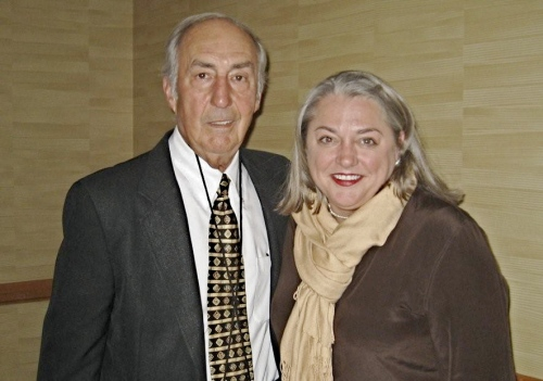 Master Distiller Parker Beam and Virginia Willis