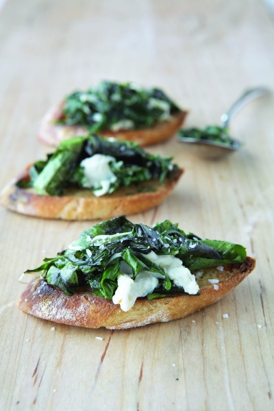 Mozz Greens Bruschetta