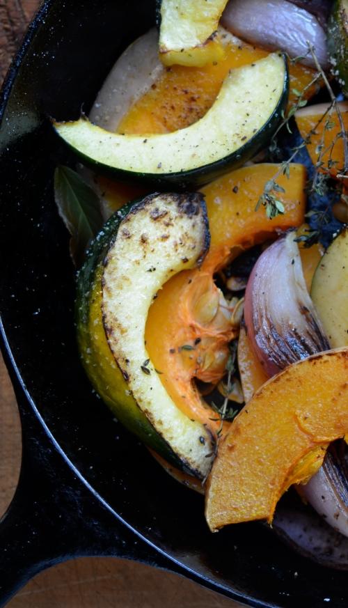 pan seared winter squash on www.virginiawillis.com
