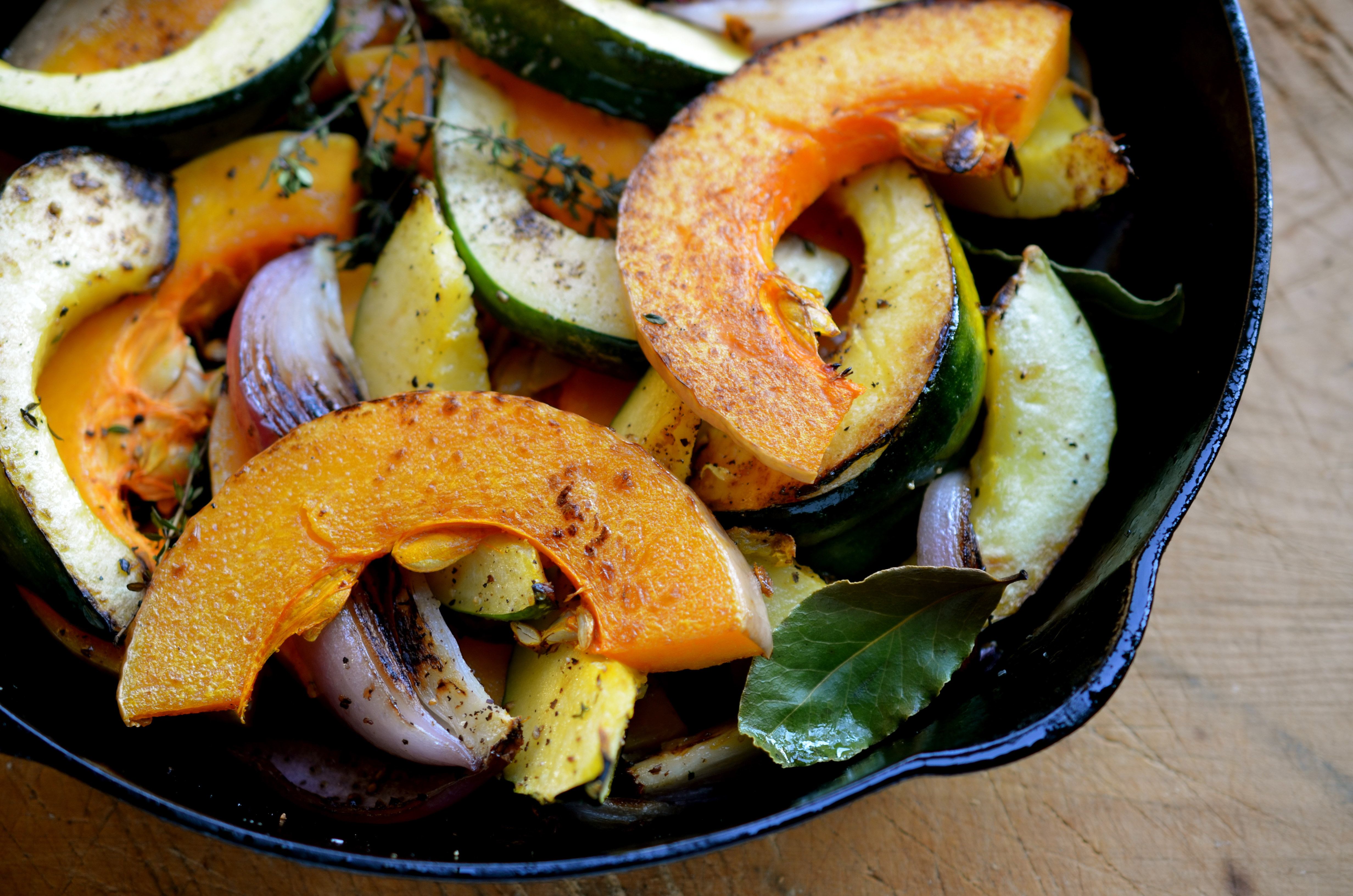 Pan-Seared Winter Squash